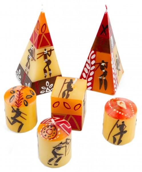 6er Kerzenset Damisi Nobunto handbemalt